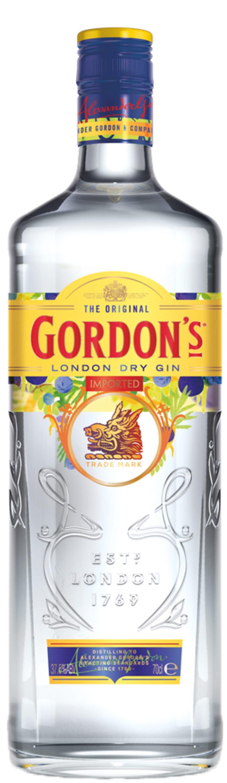 Ubrugte Gordon's London Dry Gin   Alko RM-77