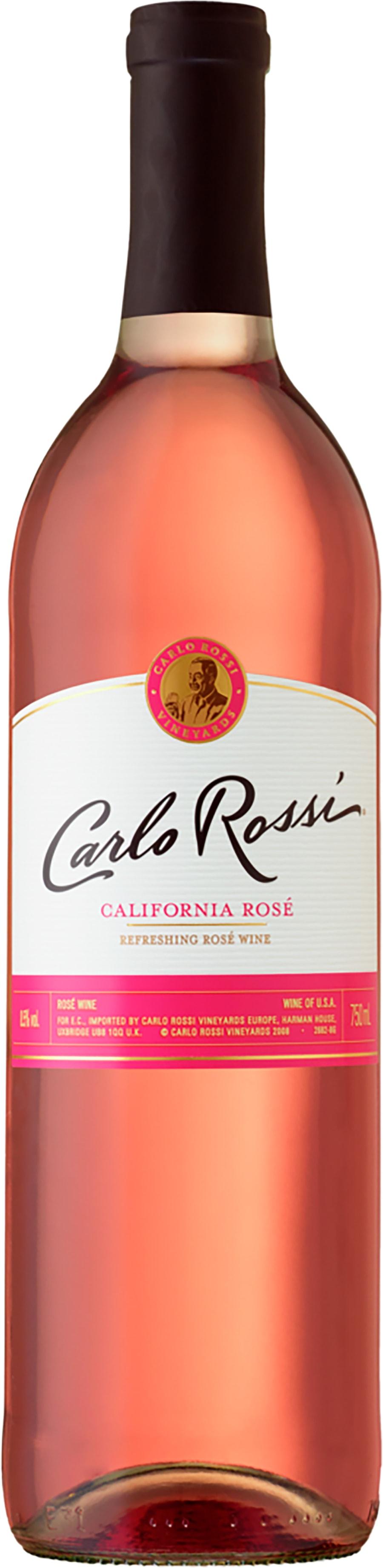 Carlo Rossi California Rose Alko