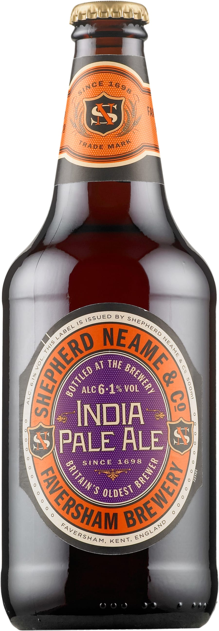 Myth 4: George Hodgson invented IPA to survive the long trip to India