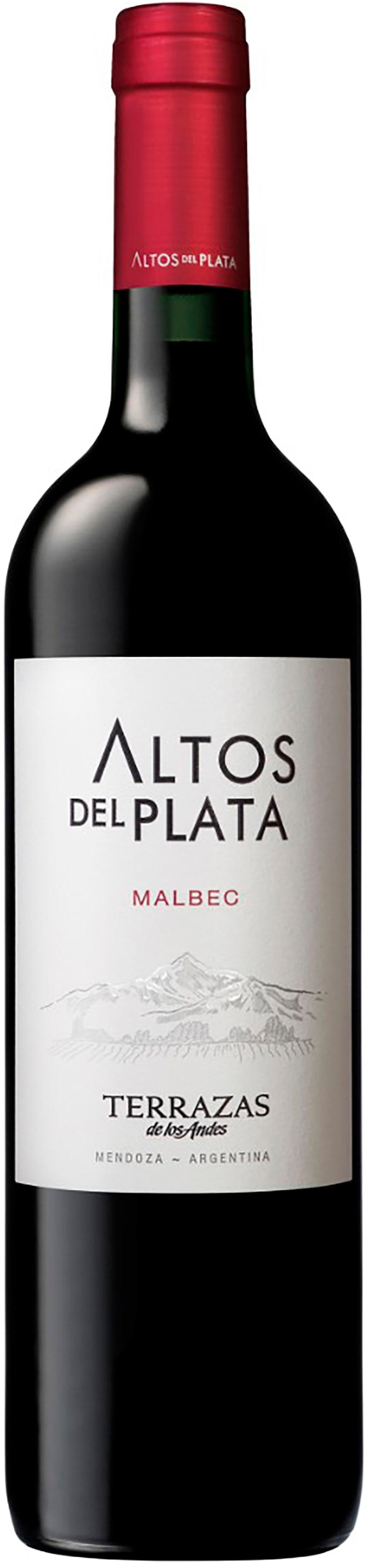 Terrazas De Los Andes Altos Del Plata Malbec 2017