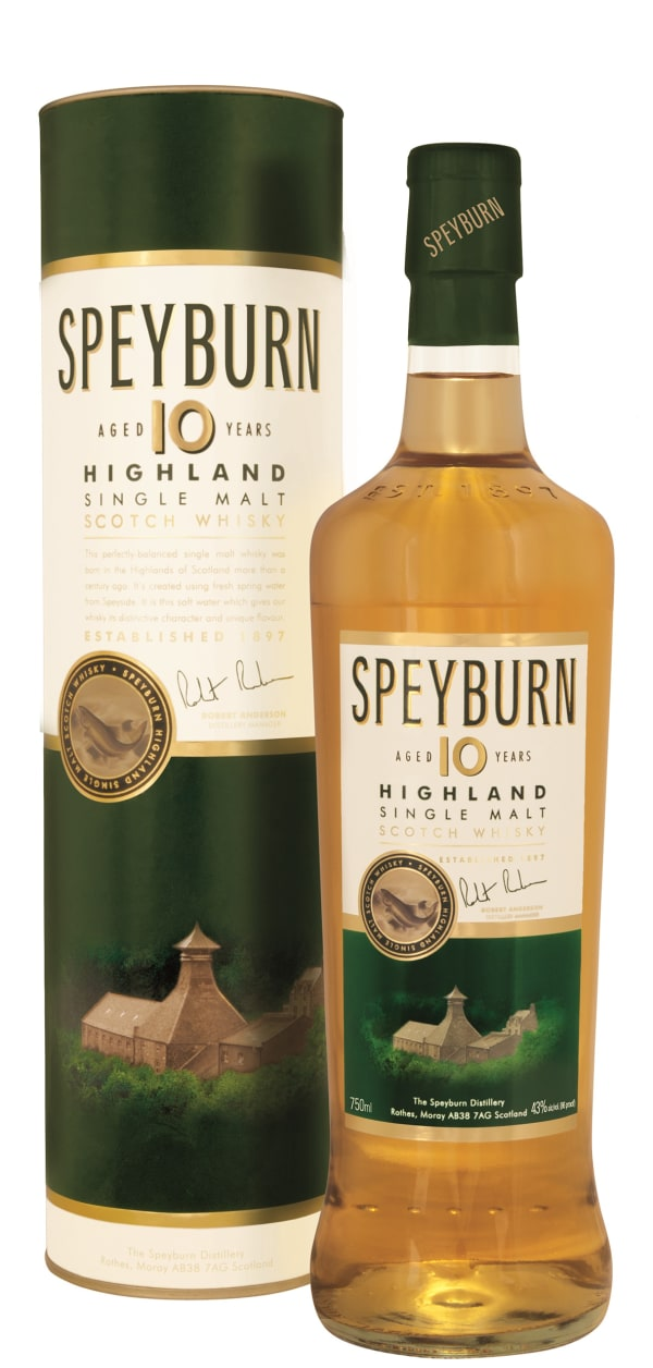 Speyburn 10 Year Old Single Malt