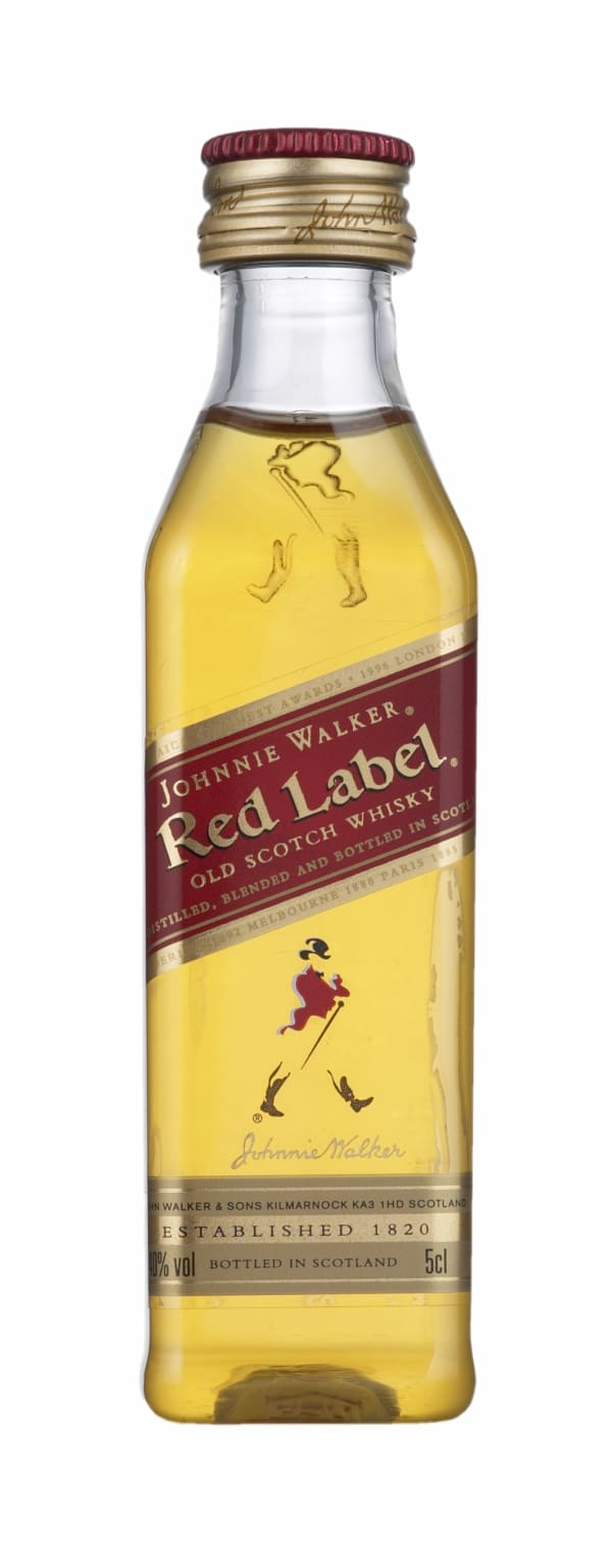 Johnnie Walker Red Label plastic bottle