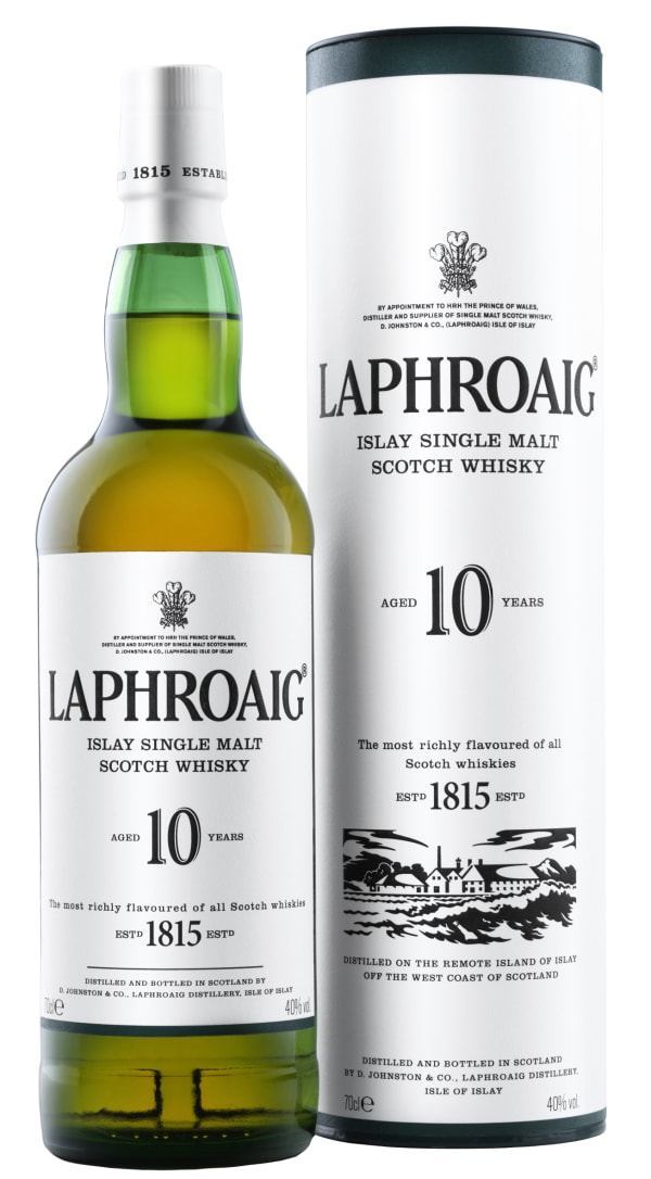 Laphroaig 10 Year Old Single Malt