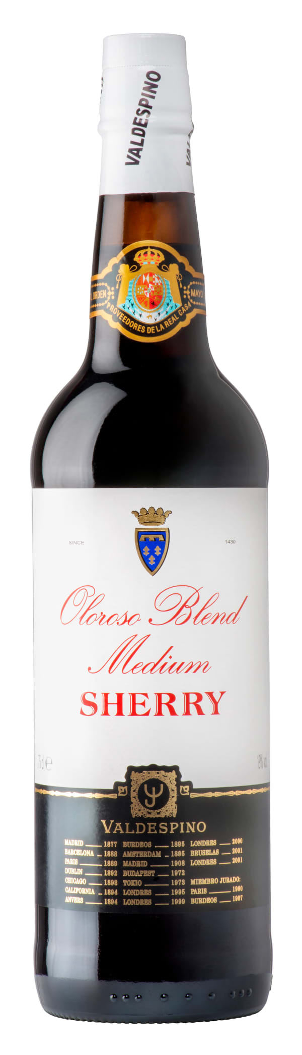 Valdespino Oloroso Blend Medium Sherry