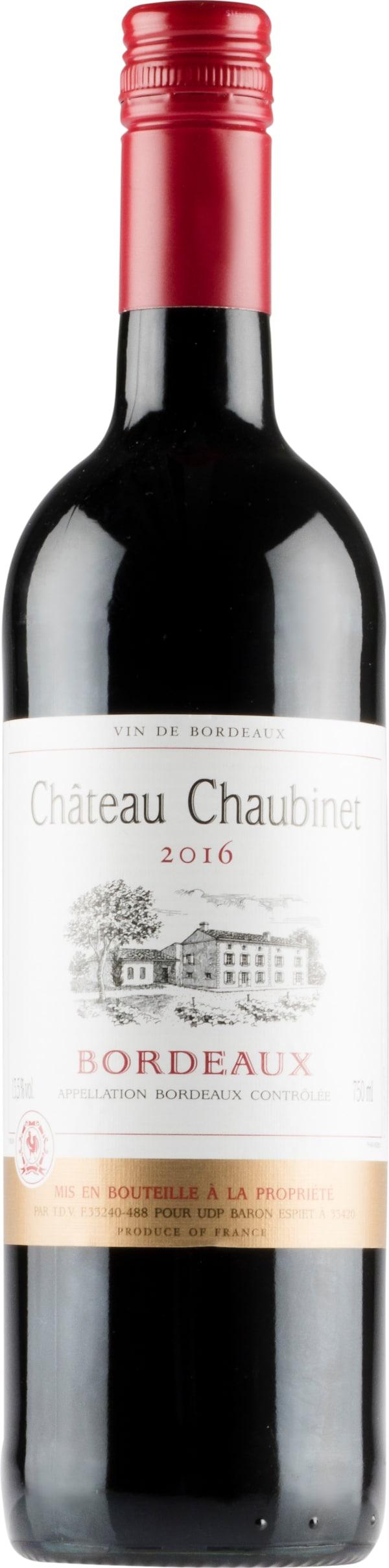 Château Chaubinet 2018