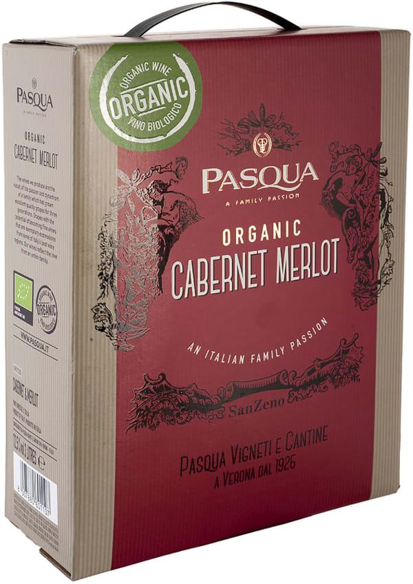 Pasqua San Zeno Cabernet Sauvignon Merlot Organic 2018 bag-in-box
