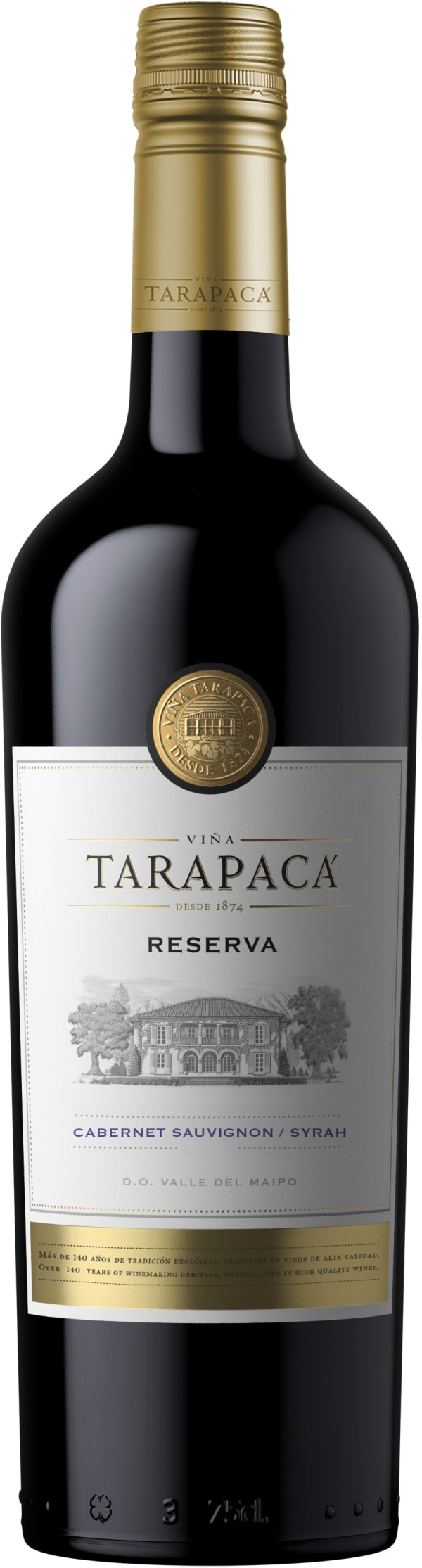 Tarapacá Reserva Cabernet Sauvignon Syrah 2018