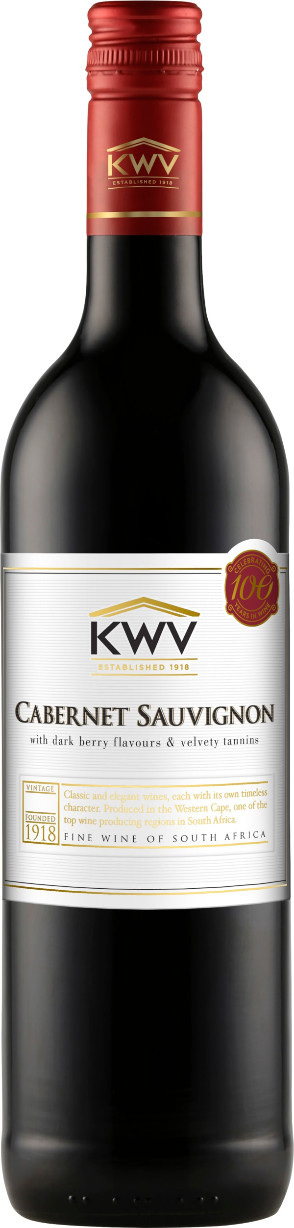KWV Classic Collection Cabernet Sauvignon 2018
