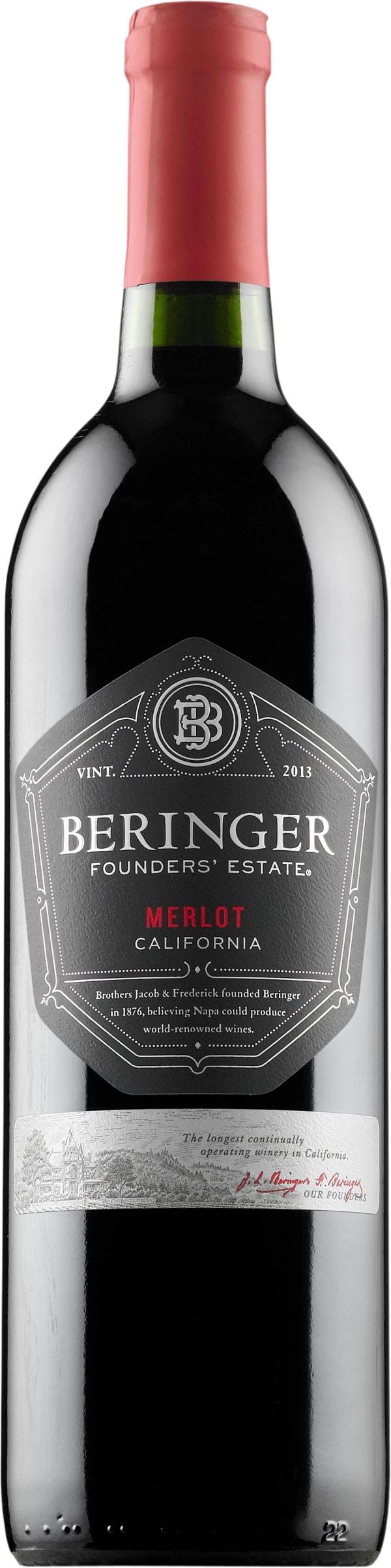 Beringer Founder's Estate Merlot 2015