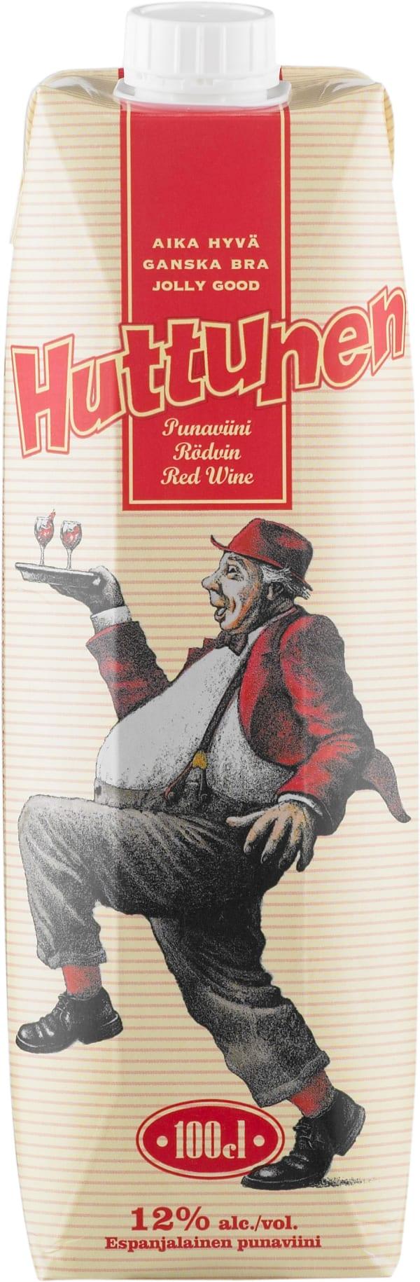 Huttunen Punaviini carton package