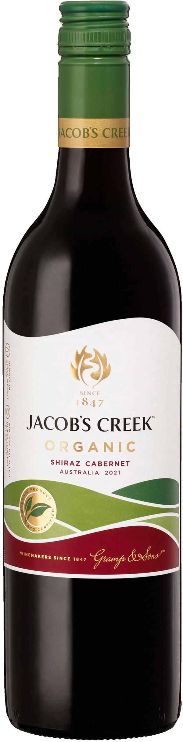 Jacob's Creek Organic Shiraz Cabernet 2018