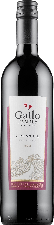 Gallo Family Vineyards Zinfandel 2014