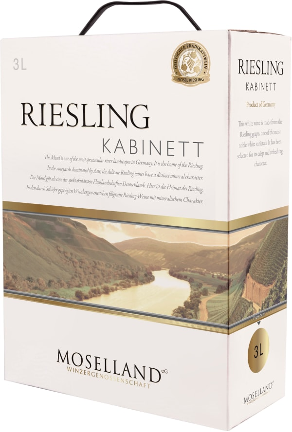Moselland Riesling Kabinett 2017 bag-in-box