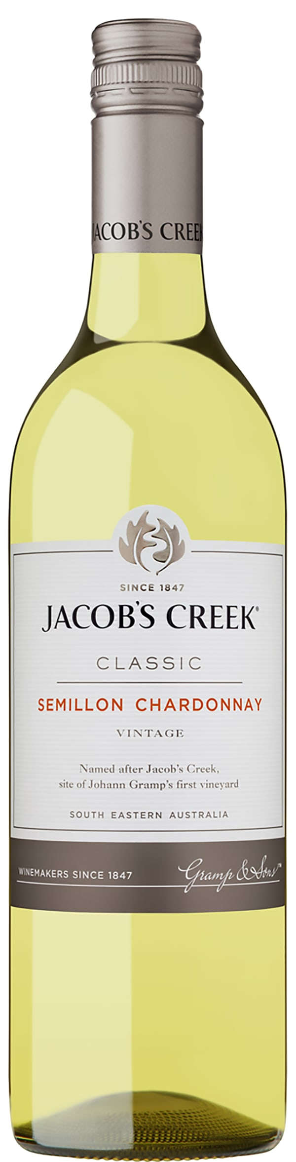 Jacob's Creek Semillon Chardonnay 2018