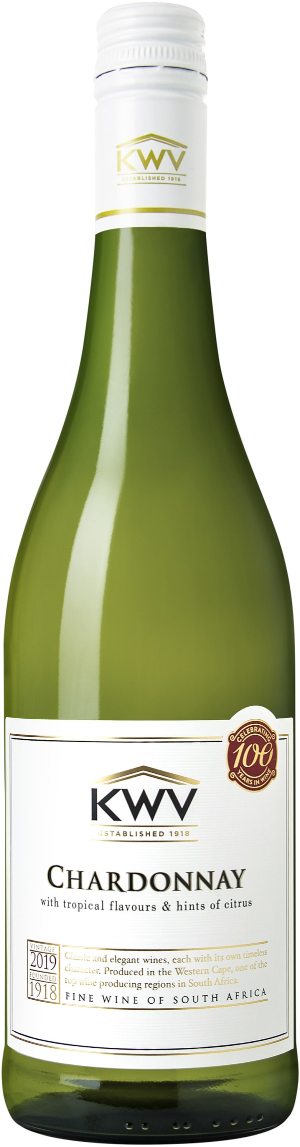 KWV Classic Collection Chardonnay 2019