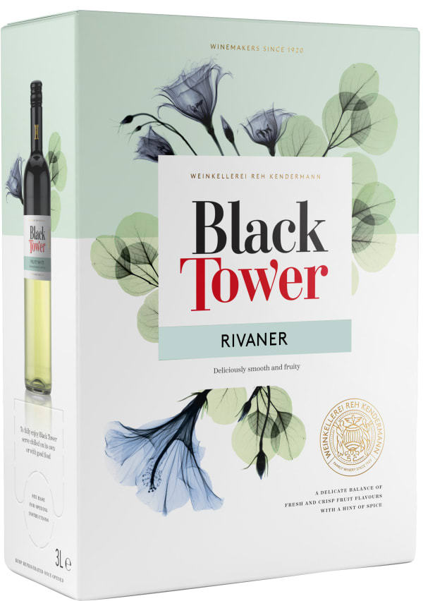 Black Tower Rivaner 2019 bag-in-box