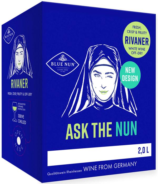 Ask the Nun Rivaner by Blue Nun lådvin