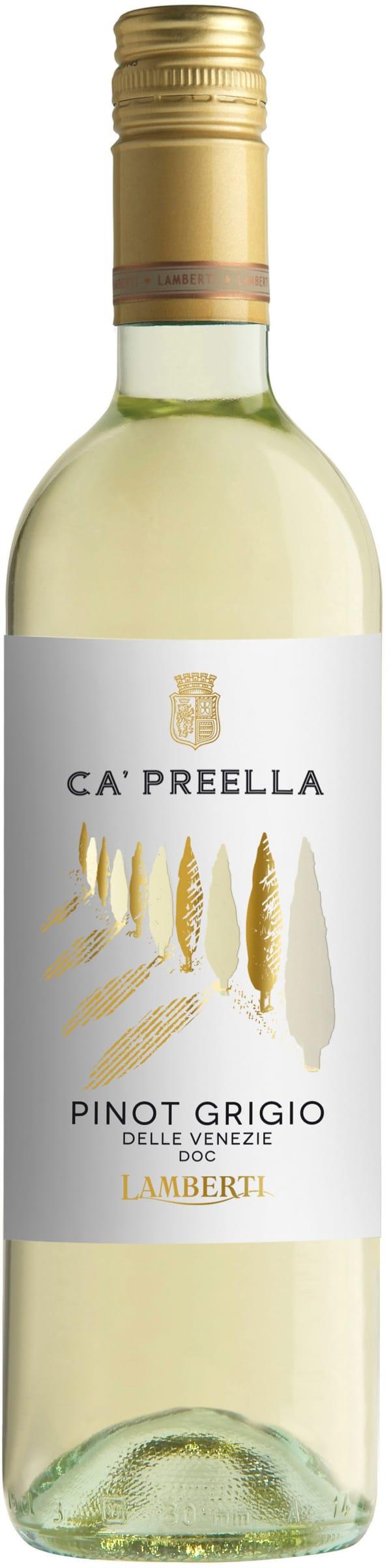 Lamberti Pinot Grigio Ca' Preella 2019
