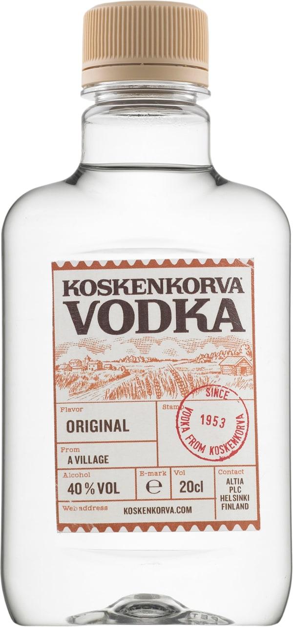 Koskenkorva Vodka 40 % muovipullo