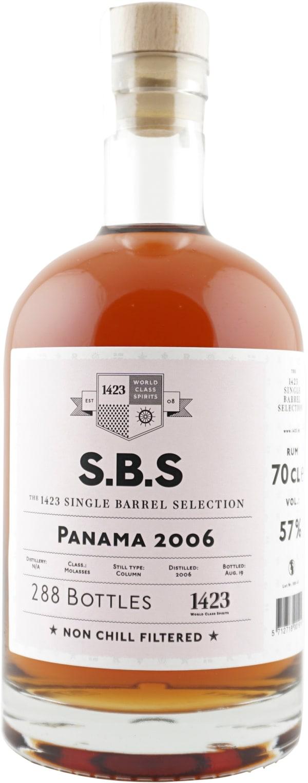 The 1423 Single Barrel Selection Panama
