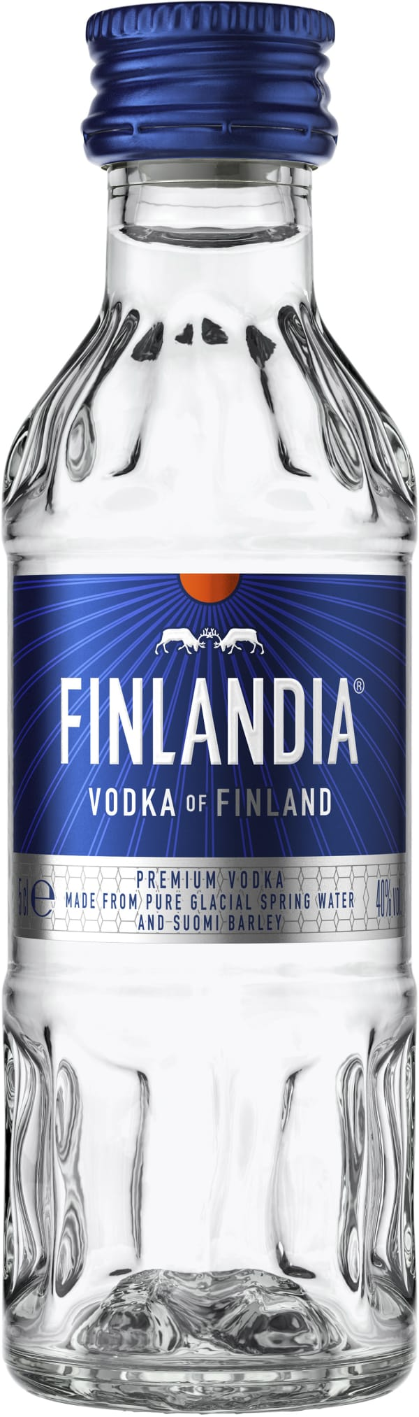 Finlandia Vodka muovipullo