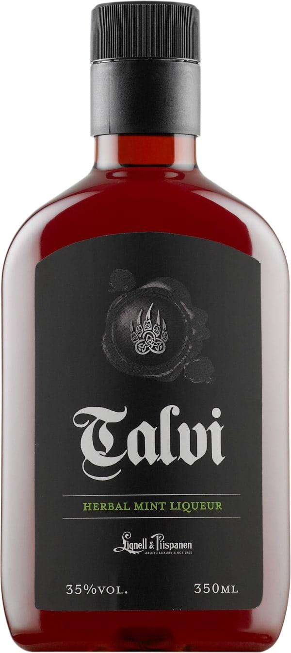 Talvi Herbal Mint Liqueur plastic bottle