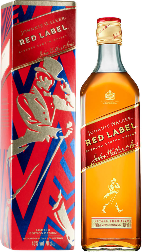 Johnnie Walker Red Label presentförpackning