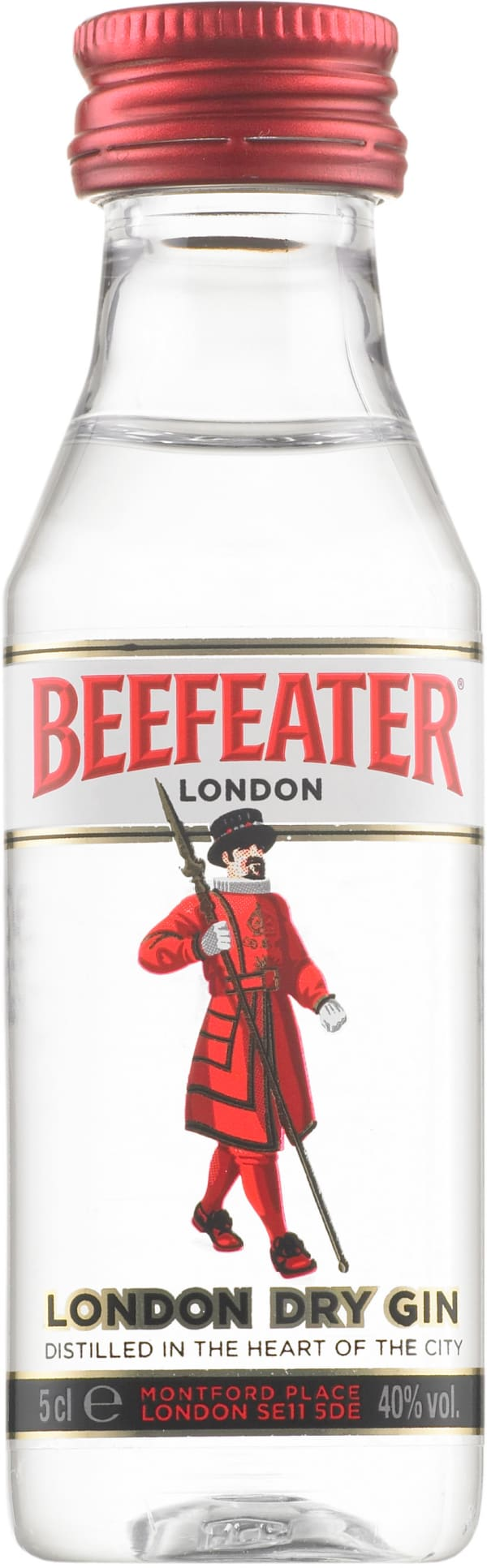 Beefeater London Dry Gin muovipullo