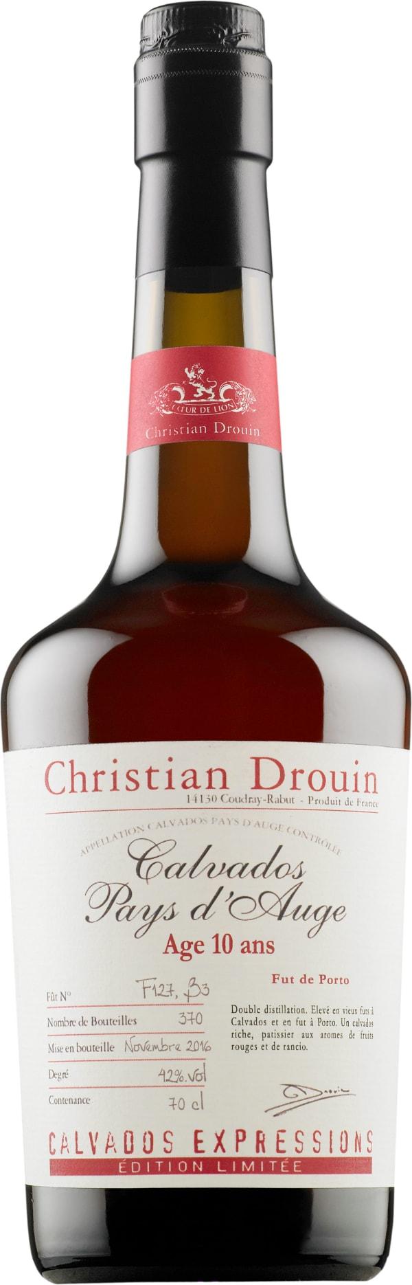 Christian Drouin 10 ans Fut de Porto Calvados