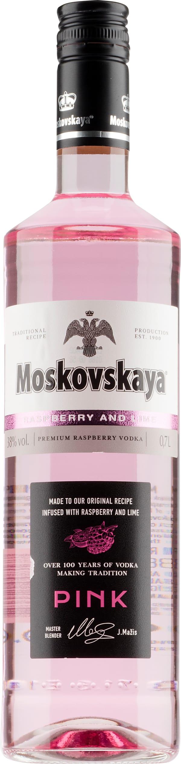 Moskovskaya Pink Rasberry Lime