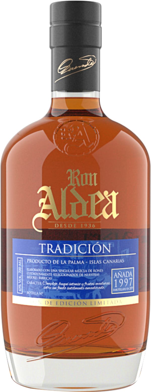 Ron Aldea Tradición Añada Rhum 1997