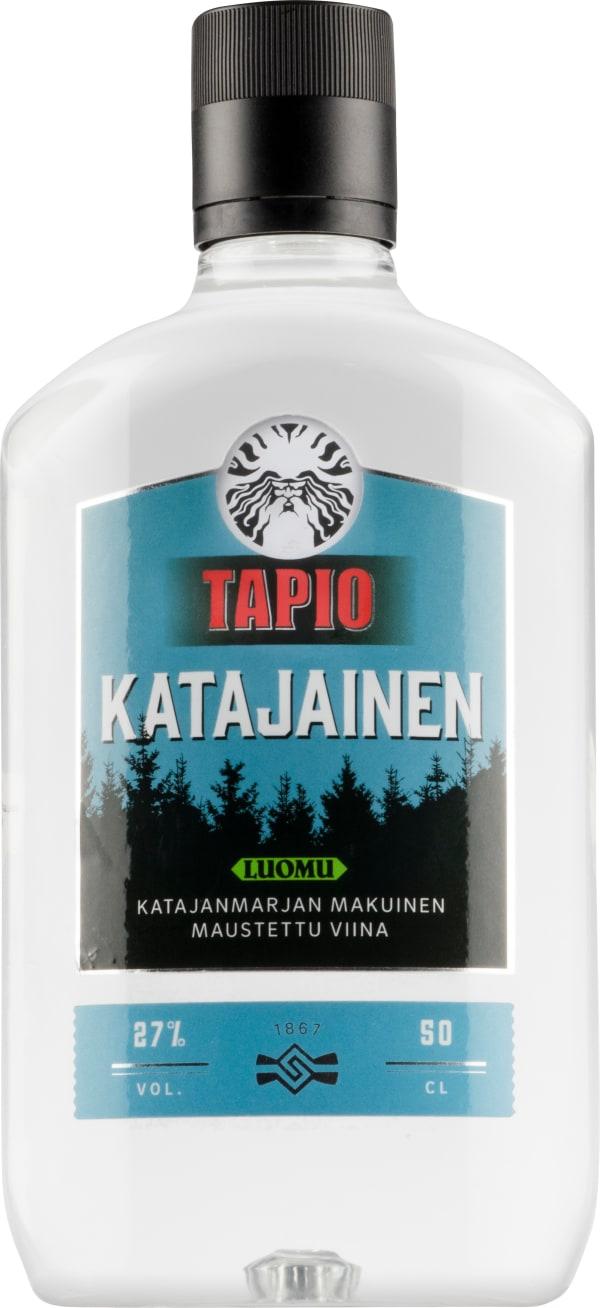 Tapio Katajainen Luomu plastic bottle