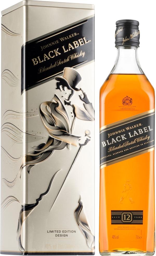 Johnnie Walker Black Label 12 Years Old gift packaging