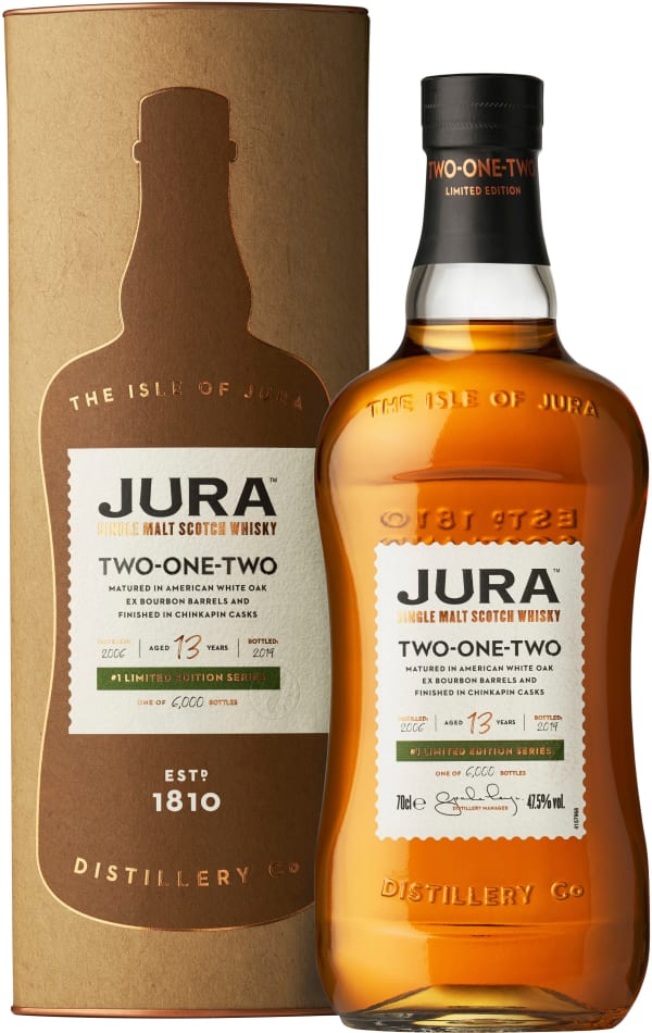 Jura Two-One-Two 13 Year Old Single Malt