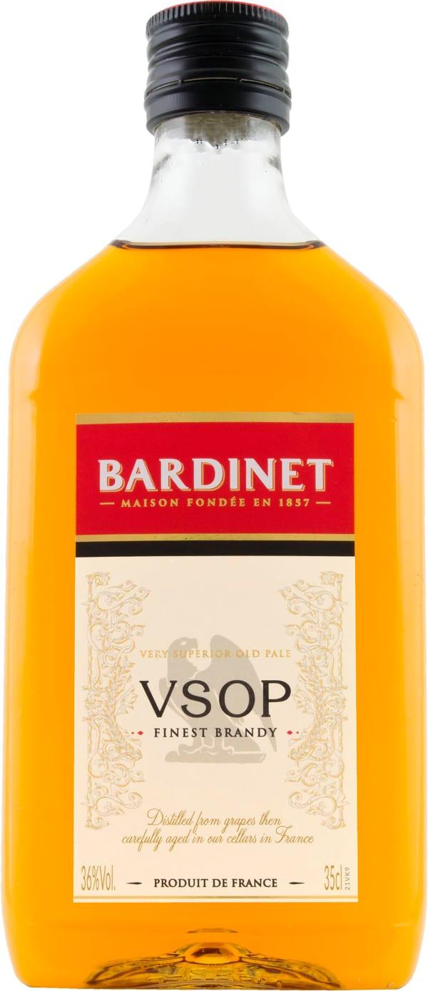 Bardinet VSOP plastic bottle