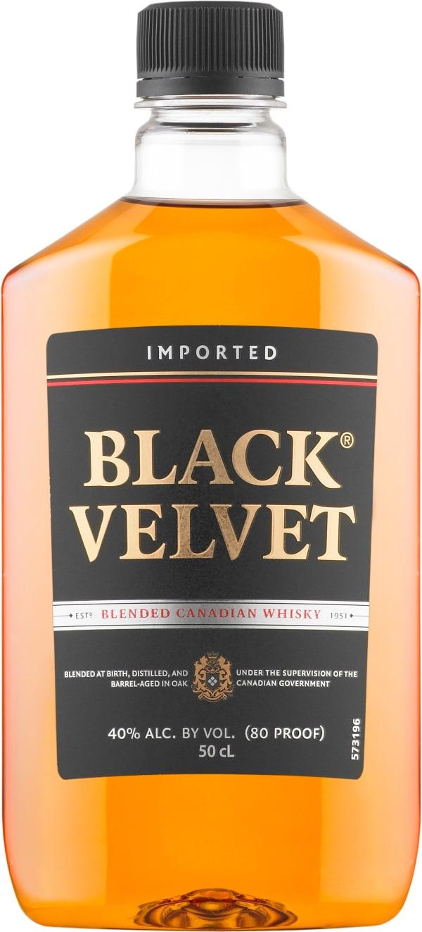 Black Velvet plastic bottle