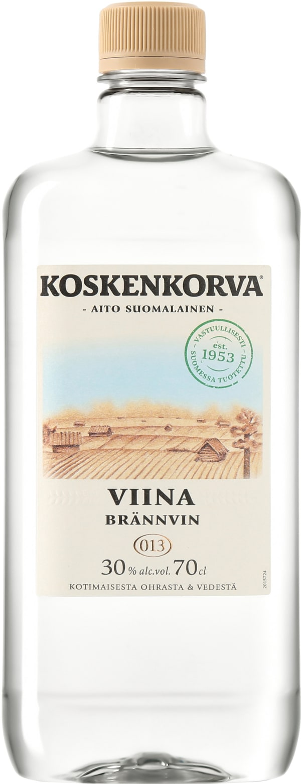 Koskenkorva Viina 30% plastflaska