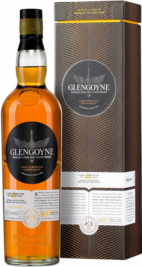 Glengoyne Cask Strenght Batch No.008 Single Malt