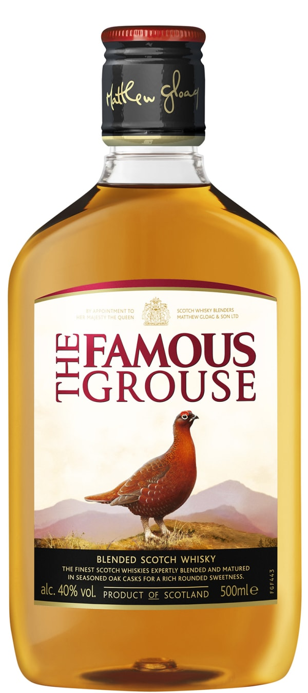 The Famous Grouse muovipullo