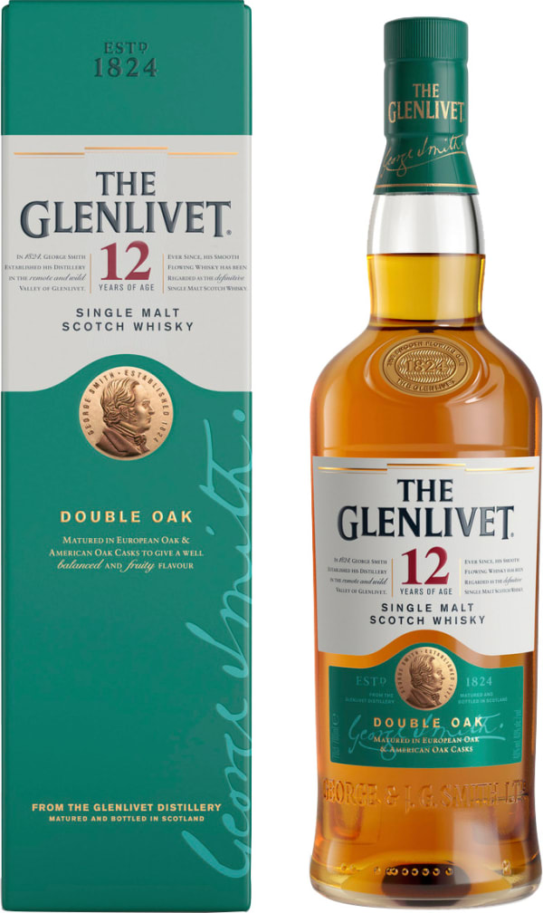 the glenlivet 12 year old single malt whisky alko