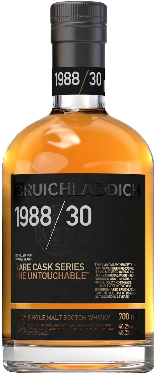 Bruichladdich Rare Cask Series Bourbon The Untouchable Islay Single Malt 1988