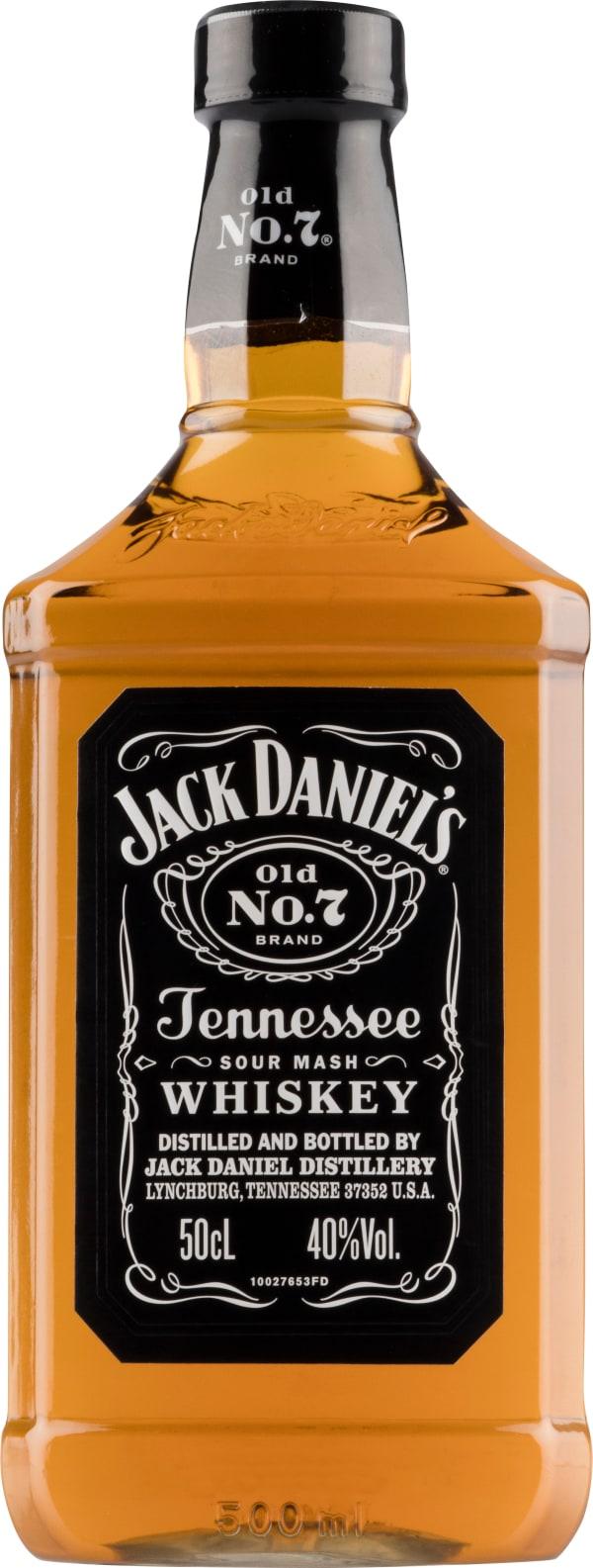Jack Daniel's Old No. 7 plastic bottle