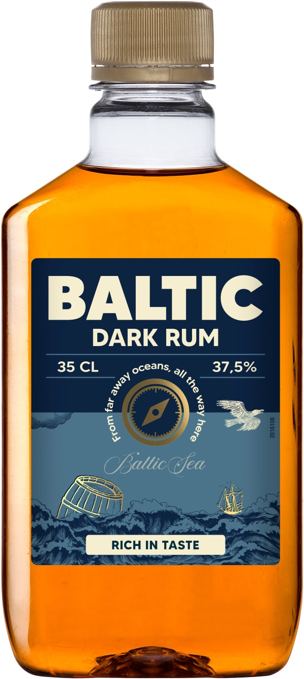 Baltic Dark plastic bottle