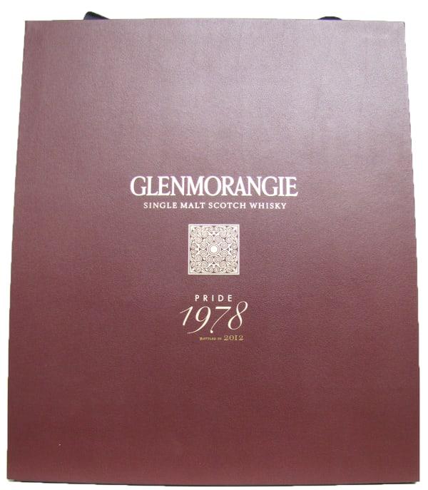 Glenmorangie Pride 1978 Single Malt