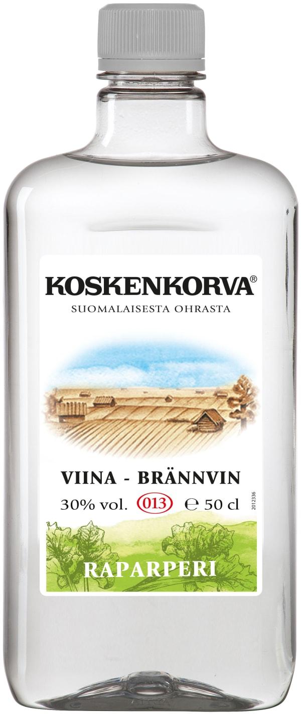Koskenkorva Viina Raparperi plastic bottle