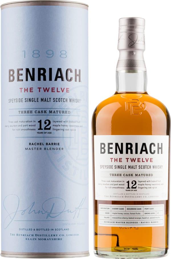 BenRiach The Twelve 12 Year Old Single Malt