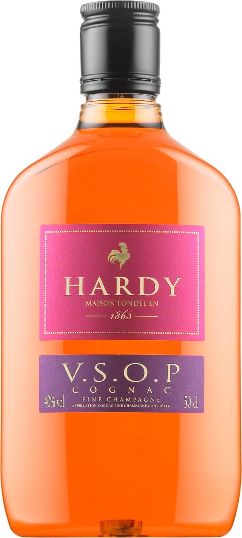 Hardy VSOP plastic bottle
