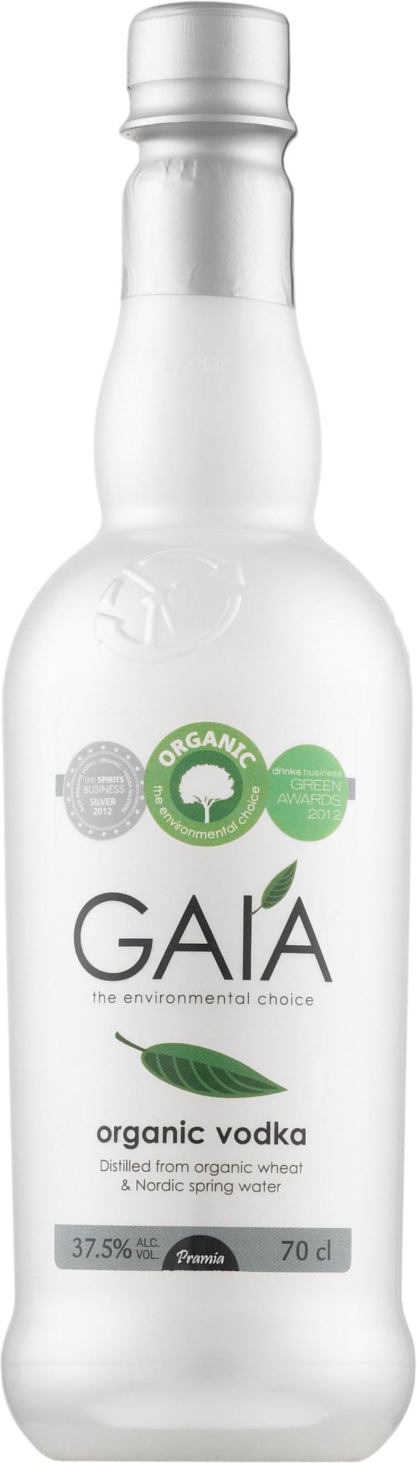 Gaía Organic Vodka plastic bottle