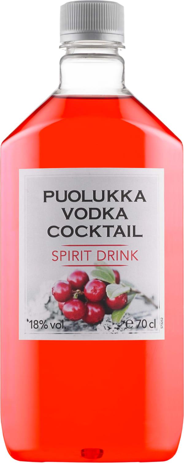 Puolukkavodka Cocktail muovipullo