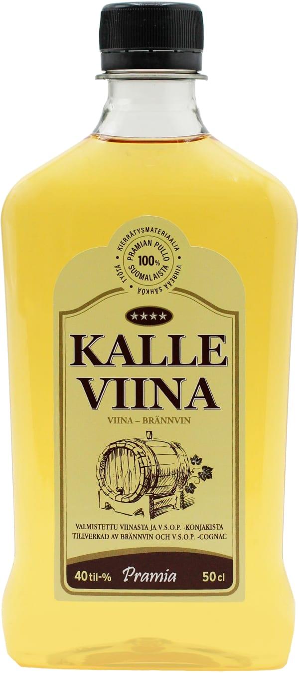 Kalle Viina plastic bottle